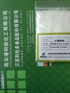 医药级BP柠檬酸钾